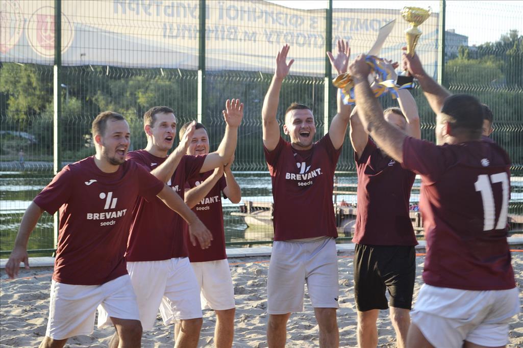 IV Чемпіонат міста з пляжного футболу