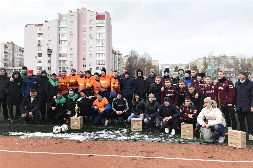 """""""ЯСКО"""" - переможець Зимового Чемпіонату міста з футболу!"""