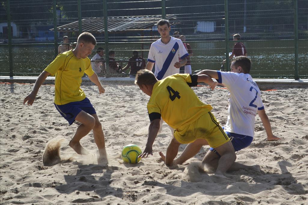 «Бревант» - переможець IV Чемпіонату міста з пляжного футболу!