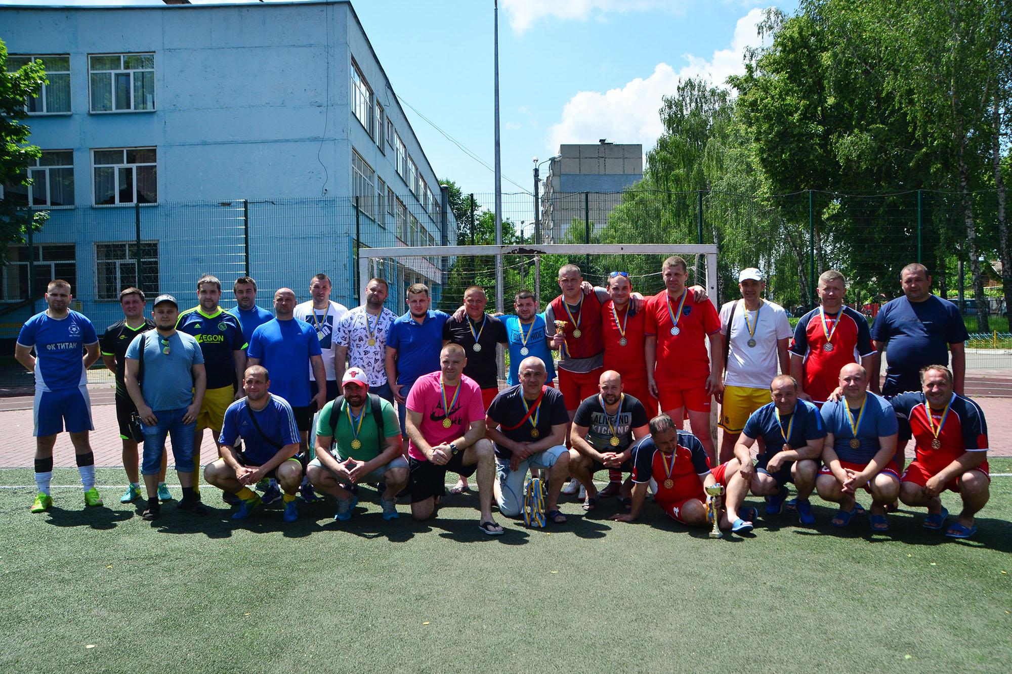 У Вінниці відбувся перший в історії міста турнір з футболу у ваговій категорії 100+