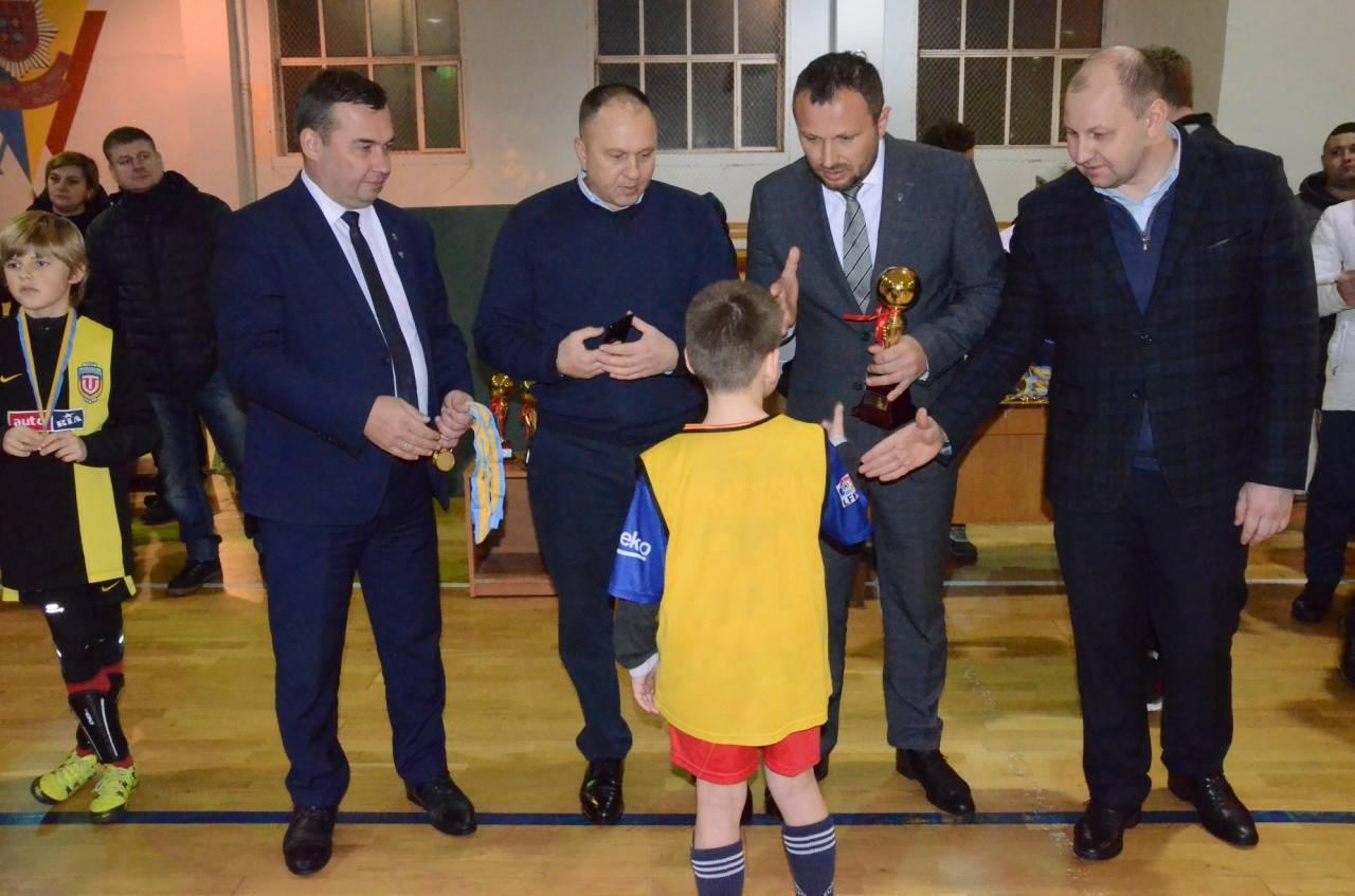 Нагородження переможців і призерів обласних турнірів з міні-футболу (футзалу)